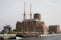 Wismar Old Harbor Royalty Free Stock Image