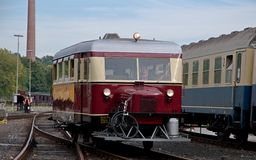 Wismar railbus Royalty Free Stock Photo