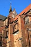 Wismar - St. Georgen church Stock Photos