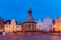 Wismar UNESCO World Heritage royalty free stock photography
