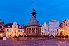 Wismar UNESCO World Heritage. UNESCO World Heritage, Hansestadt Wismar Markt mit Brunnen, market with well Royalty Free Stock Photography