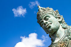 Wisnu statue  in GWK cultural park Bali Indonesia Royalty Free Stock Image