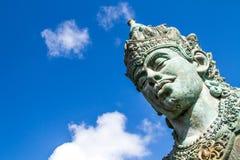 Wisnu-Statue in kulturellem Park Bali Indonesien GWK Lizenzfreies Stockbild