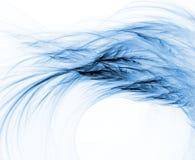 Wisp azul Foto de Stock Royalty Free