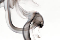 Wisp do fumo Foto de Stock