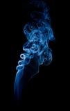 Wisp of smoke Stock Image