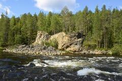 Wispelturige rivier royalty-vrije stock foto