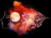 Wispers av månen Royaltyfri Fotografi