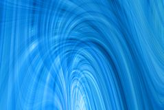 Wispy Abstract. A computer generated background abstract in a wispy blue thread like design Royalty Free Stock Photo