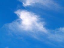 Wispy clouds stock photos