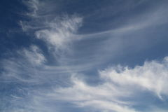 Wispy Clouds Stock Image