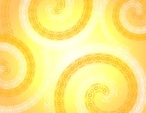 Wispy Soft Gold White Spring Background stock illustration