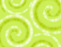 Wispy Soft Green Spring Background Royalty Free Stock Photos