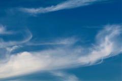 Wispy Wolken stockbilder