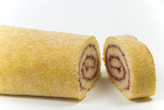 Wiss roll cake suitable for a pudding Royalty Free Stock Photography