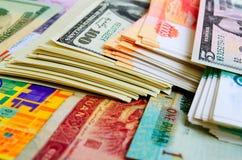 Wisselkoersen en speculatie royalty-vrije stock afbeelding