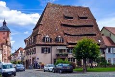 Wissembourg salt hus Arkivbilder