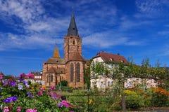 Wissembourg Santo-Pierre-y-Paul Imagen de archivo libre de regalías