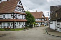 Wissembourg-Stadt Stockfotos