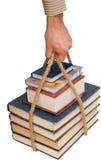 Wissen ist eine Kraft Stockfotos