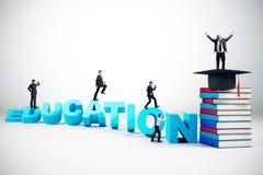 Wissen und Förderungskonzept stock abbildung