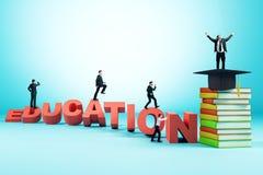 Wissen und Karrierekonzept vektor abbildung