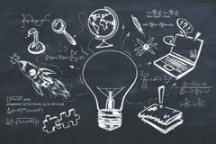 Wissen und Plankonzept Lizenzfreies Stockfoto
