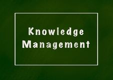 Wissens-Management vektor abbildung