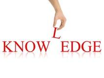 Wissensauszug mit Ausschnittspfaden Lizenzfreies Stockfoto