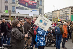 Wissenschaft März München Deutschland am 22. April 2017 Stockfoto