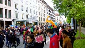 Wissenschaft März München Deutschland am 22. April 2017 Stockbild