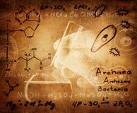 Wissenschaft und medizinischer Hintergrund Lizenzfreies Stockfoto