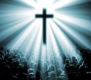 Wissenschaft und Religion Lizenzfreie Stockbilder