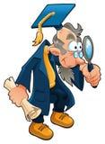 Wissenschaftler - Karikatur Lizenzfreies Stockfoto