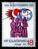 Wissenschaftler und Techniker, die 30 Jahre die Regierung serie der Leute, circa 1974 lizenzfreie stockbilder