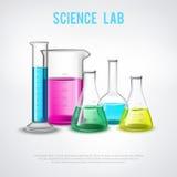 Wissenschaftliche Schiff-Zusammensetzung Stockbild