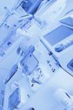 Wissenschaftlicher Ausrüstungshintergrund Lizenzfreie Stockbilder
