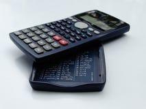 Wissenschaftlicher Taschenrechner lokalisiert stockbild