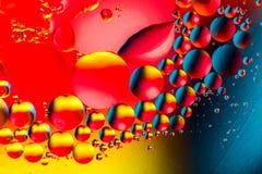 Wissenschaftliches Bild der Zellmembran Makro oben von flüssigen Substanzen Abstraktes Molekülatom sctructure Hintergrund, Bad, b stockfotografie