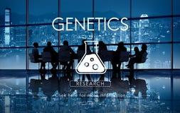Wissenschaftliches Biochemie-Genetik-Technik-Konzept stockfotos