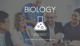 Wissenschaftliches Biochemie-Genetik-Technik-Konzept stockbilder