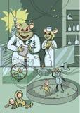 Wissenschaftliches Experiment Stockfoto