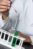 Wissenschafts-Experiment stockbild