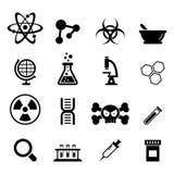 Wissenschafts-Ikone Stockbild