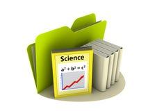 Wissenschafts-Ikone Stockfoto