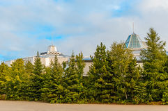 Wissenschafts-Mittelnorden in Sudbury, Ontario-Kanada stockfotos