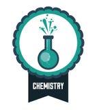 Wissenschafts- und Chemiedesign Lizenzfreies Stockfoto