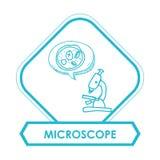 Wissenschafts- und Chemiedesign Lizenzfreies Stockbild