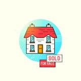 Wissenschafts-Vektor-Ikonen-Satz Stockbilder