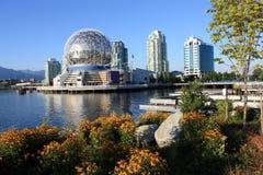Wissenschafts-Welt in Vancouver stockbild